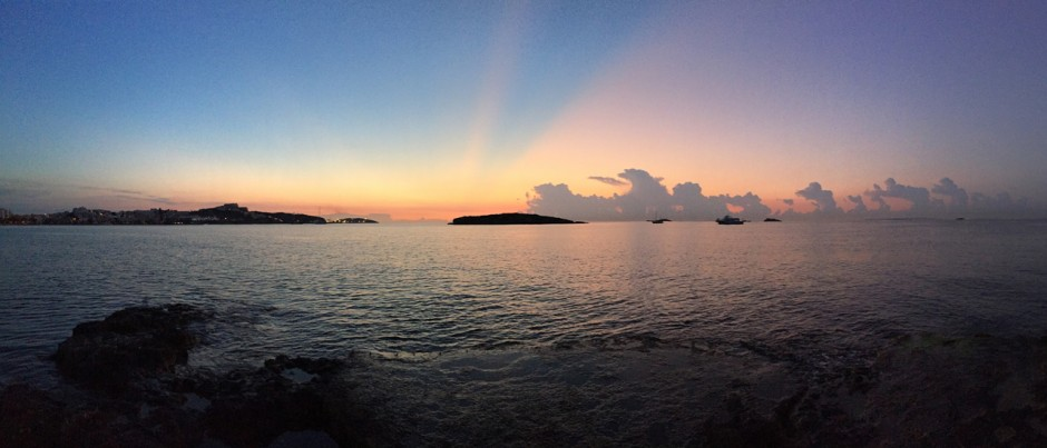 Dawn in Ibiza