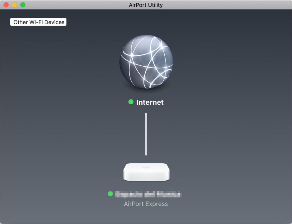 v6プラスでAirMac Expressが接続できなくなったときの応急処置